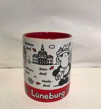 """Sheepworld Tasse """"Ohne Lüneburg ist alles doof."""" Ohne dich ist alles doof. NEU"""