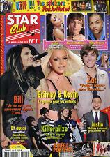 Magazine STAR CLUB n°240, Britney SPEARS, Zac EFRON, Vanessa PARADIS, KILLERPILZ