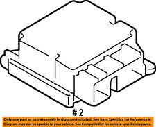 FORD OEM F-150 Airbag Air Bag-RCM SDM ACM Restraint Control Module FL3Z14B321E