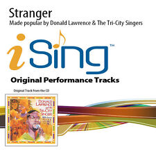 Donald Lawrence & The Tri-City Singers - Stranger - Accompaniment Track