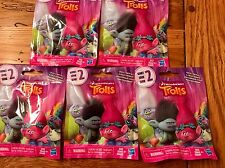 Hasbro DreamWorks TROLLS Series 2 Figures Blind Bag Packs Lot of 5 Five Sealed