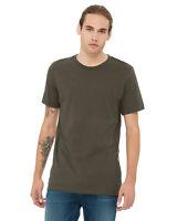 Bella + Canvas Unisex Jersey Short-Sleeve T-Shirt 3001C 100% Cotton XS-5XL Tee