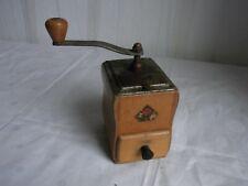 Sammlungsauflösung - Alte Mokkamühle - Kaffeemühle aus Holz - PeDe Dienes