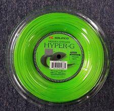 Solinco Hyper G Hyper-G 16 Gauge 1.30mm 656' 200m Tennis String Reel NEW