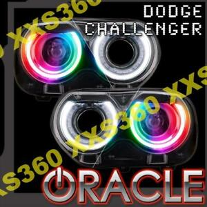 ORACLE for Dodge Challenger 2015-2020 Headlight DRL Upgrade Kit COLORSHIFT RBG+W