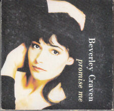 "MINI CD  2T 8 CM  BEVERLY CRAVEN ""PROMISE ME"""