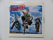 CD SINGLE Promo Mono titre BUSTED You said no 4853
