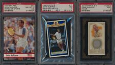 1992 Fosters Sporting Greats  PSA 8 NMMT avg lot 3 diff John McEnroe cards 55629