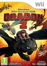 HOW TO TRAIN YOUR DRAGON 2 (Nintendo Wii)  PAL FAMILY KIDS FUN GAME BRAND NEW