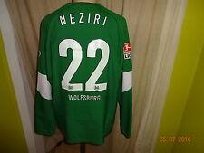 "VfL Wolfsburg Nike Langarm Matchworn Trikot 2004/05 ""VW"" + Nr.22 Neziri Gr.L"