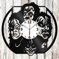 Kiss Vinyl Wall Clock Made of Vinyl Record Original gift 2614