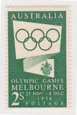 Olympics Australian Pre-Decimal Stamp Blocks, Sets & Sheets