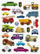 Kids Car Truck Construction Vehicle Stickers Usa Made #24 Usa Shipping Usa Made