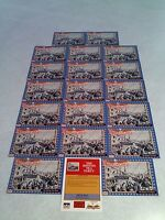 The Boston Tea Party:  Lot of 20 cards / 1992 Starline Americana