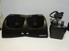 AUDIOLINE ALPMR 304 REPLACEMENT DUAL CHARGER POD & POWER ADAPTOR ONLY