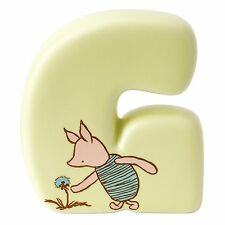 Classic Winnie the Pooh A27341 Alphabet Letter G Piglet