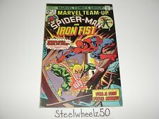 Marvel Team-Up #31 Comic Marvel 1975 Spiderman Iron Fist Gerry Conway Gil Kane