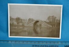 1920s Postcard Sized Real Photograph Scene In/Near Pekin Beijing 北京 China 中国