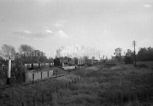Arlesey Station GN Line Platform Demolition 9F 92147 1962 Railway Negative RN110