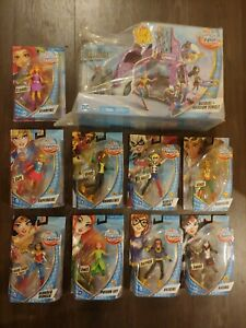 "DC Comics Super Hero Girls 6"" Action Figure Lot of 10! New! Starfire, Hawkgirl +"