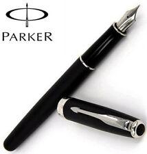 Perfect Parker Sonnet Matte Black Color Silver Clip 0.5mm Fine Nib Fountain Pen