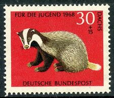 STAMP / TIMBRE ALLEMAGNE GERMANY N° 416 ** ANIMAL A FOURRURE BLAIREAU