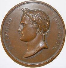 NAPOLEON-Couronnement à Paris - 1804 médaille (cca.1880 édition)