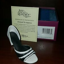 "Just The Right Shoe ""Dressed To Impress"" 2001 Raine Willitts #25163 W/Coa - Mib"