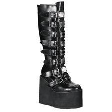 Demonia Gothic Platform  Women's Boots SWING-815  Cyber Goth Punk Vegan Gogo