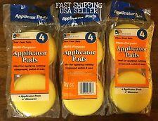 24 - Waxing Polish Foam Sponge Car Wax Applicator-Cleaning-Detail Pads 💫