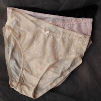 Women's low waist Triangle Silkworm Silk Panties Briefs Knickers Lace underdress