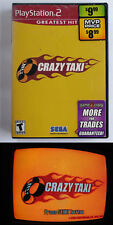 Crazy Taxi for Playstation 2 - PS2 with Manual ** TESTED **