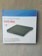External CD/DVD Drive USB 3.0 Portable DVD/CD +/-RW Drive Slim Read & Rewrite