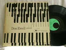 "DON EWELL Pianist Windin' Ball Recordings 101 mono dg 10"" LP"