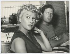 Martine Carol et Raf Vallone Vintage silver print Tirage argentique  18x24