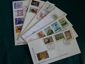Cyprus 1996 Complete year set FDC's.
