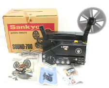 Vintage Sankyo Sound - 700 Super 8 Single 8 Movie Film Projector In Box
