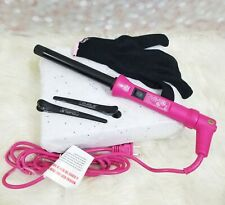pro royale professional curling iron infinite 19MM Hot Pink