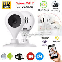Wireless WIFI IP Camera HD 720P Cam Security Network IR Night Vision Recorders
