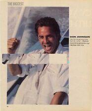 Don Johnson Miami Vice Magazine Photo