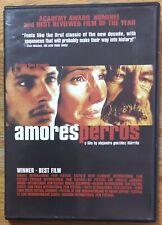 Amores Perros Ex Rental Dvd Emilio Echevarria Alejandro Gonzalez Inarittu
