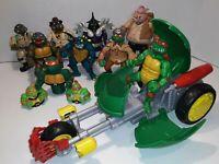 New Set 4 Tmnt Teenage Mutant Ninja Turtles Figures MHMF#302 #TA14