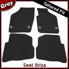 SEAT Ibiza a Medida Alfombra Alfombrillas De Coche Gris (2008 2009 2010 201110Concepciónterrascopeaños       muertoLunaactual