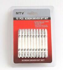 10 x Screw Driver Phillips Power Drill  Tools Hex Power Long Driver Bit Set