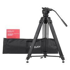 KINGJOY VT-2500 Professional Mg-Al Video Photo Tripod Kit for DSLR Camera D3N8