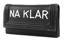 LIEBESKIND BERLIN Printed Vintage NA KLAR Multizip Slam H8 Geldbörse Black Neu