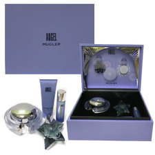 ANGEL BY THIERRY MUGLER EDP 1.7 OZ (REFILLABLE STAR ) 4 PC GIFT SET