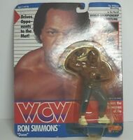 WCW Galoob Ron Simmons UK Exclusives Card Sealed EMS with Tracking