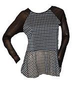 Unbranded Long Sleeve Waist Length Check Women's Tops & Shirts
