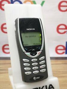 NOKIA 8260 AT&T rare original phone mobile WORKING Free Shipping